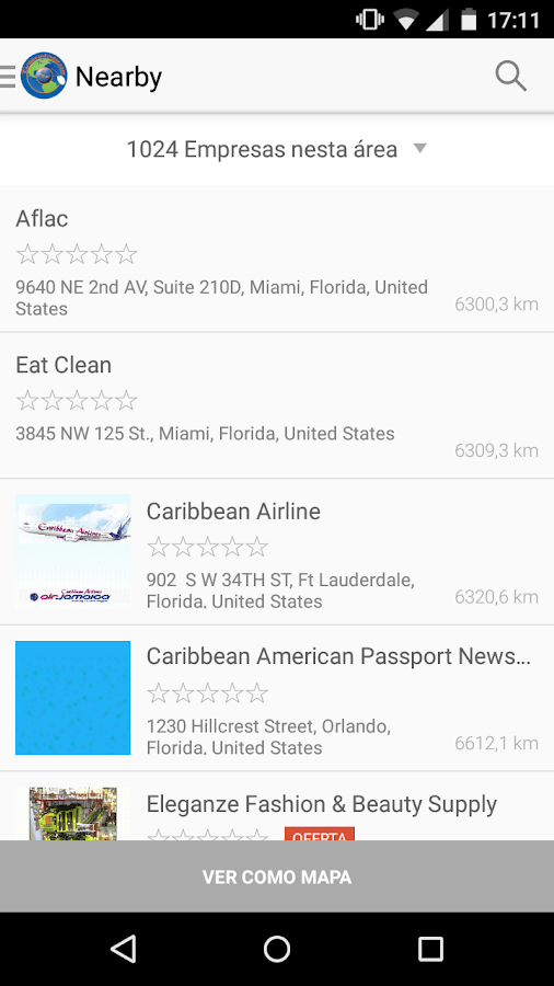 caribbean finder- screenshot