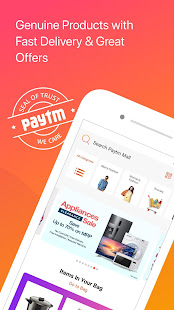 App Paytm Mall: Online Shopping App APK for Windows Phone