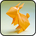 Animal Origami: free origami app, origami folding icon