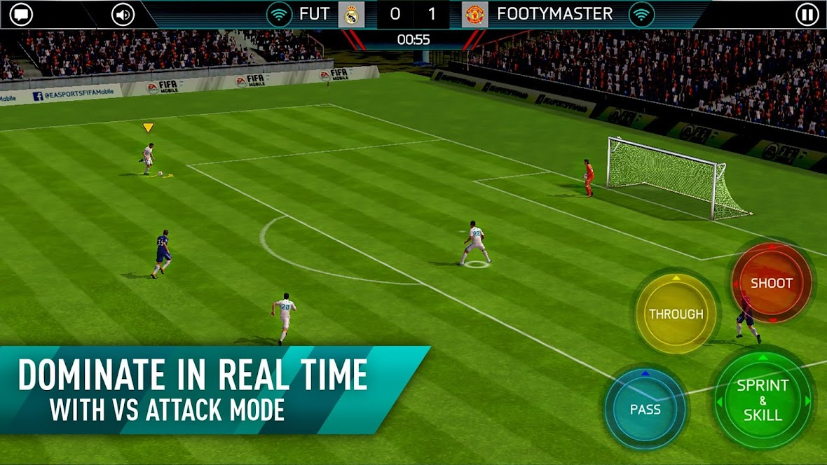 FIFA Mobile Soccer mod andropalace