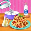 Make Pasta Food Kitchen Games icon