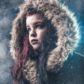 The Storm by Eric Bureau - People Portraits of Women ( studio, photoshoot, emilie guevremont,  )