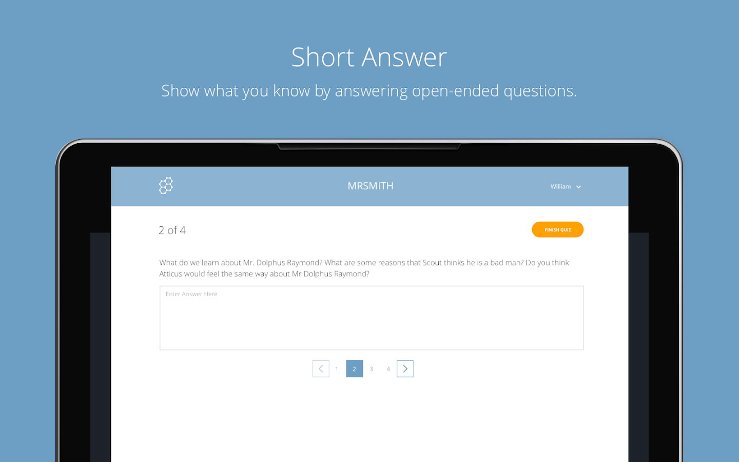 Socrative Student- screenshot