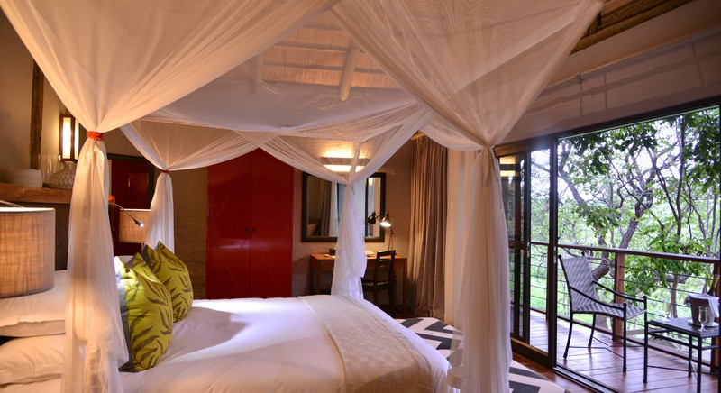 Safari suites double bedroom