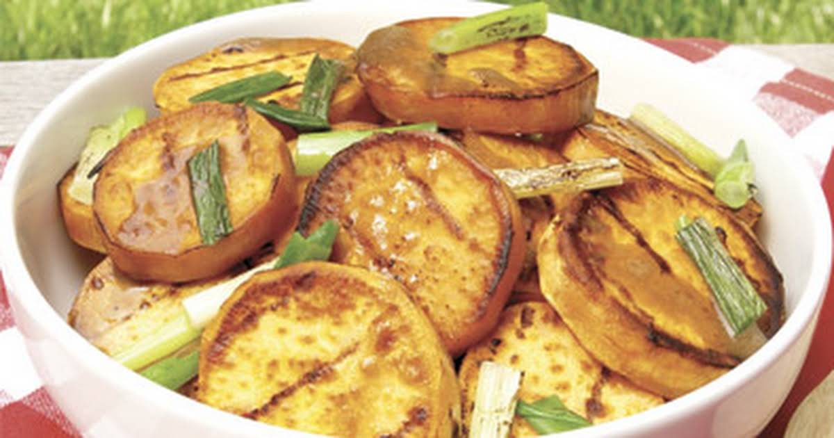 Grilled Sweet Potatoes With Lime And Cilantro Bobby Flay
