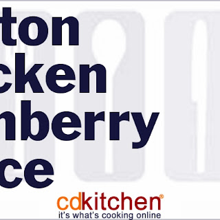 Boston Chicken Cranberry Sauce