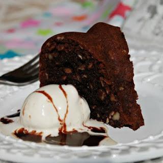 Gluten-Free Oatmeal Brownie Bundt Cake