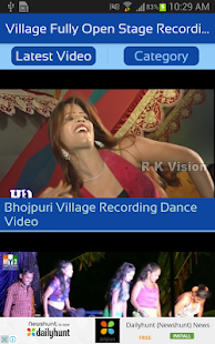 Village Fully Open Stage Recording Dance Videos - náhled