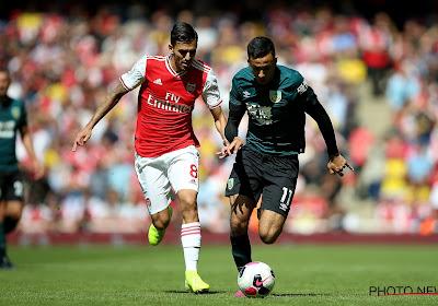 📷 Burnley maakt het Arsenal knap lastig, veel lof voor nieuwkomer Ceballos