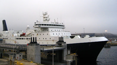 Photo: Newfoundland'e geldiğimiz Ferry