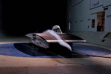ANSYS Испытания в аэродинамической трубе в National Research Council Air Tunnel Facilities, Оттава