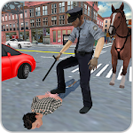 Police Horse Criminal Chase 3D Icon