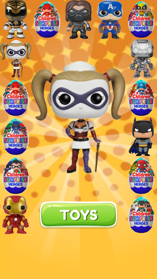 Surprise Eggs Superheroes- screenshot