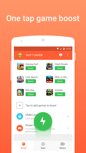 玩免費工具APP|下載Swift Gamer – Game Boost,Speed app不用錢|硬是要APP