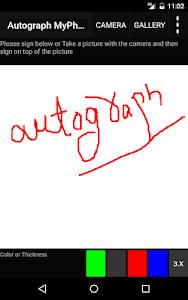 Autograph My Photo screenshot 9