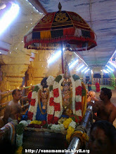 Photo: perumAL/thAyAr puRappAdu inside the temple