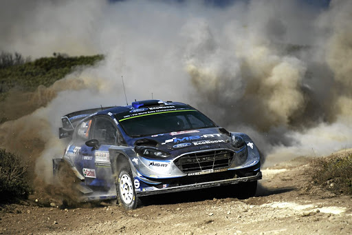 Ott Tänak took his first ever WRC victory on the Rally of Sardinia.   Picture: NEWSPRESS UK