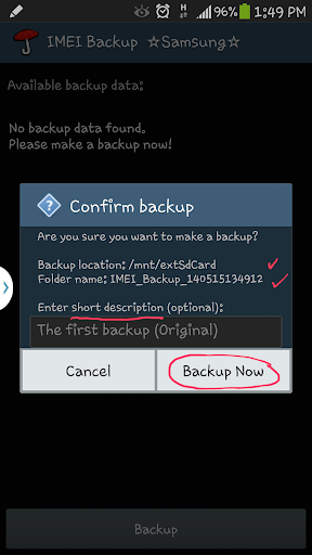 IMEI Backup ☆Samsung☆ by vndnguyen (Google Play, United