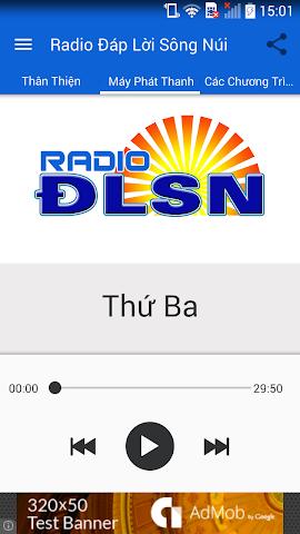 android Radio Đáp Lời Sông Núi Screenshot 1