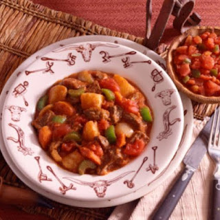 Crockpot Beef and Pinto Bean Stew