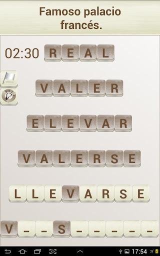 PALABRAS - Juego de Palabras en Espau00f1ol 1.17 screenshots 12