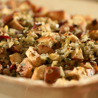 Prosciutto and Pear Stuffing.