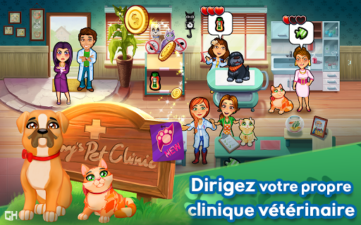Télécharger gratuit Dr. Cares - Amy's Pet Clinic 🐈 🐕 APK MOD 2