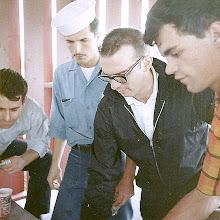 Photo: '68 AMD Avionics party at the Chase Field softball park
