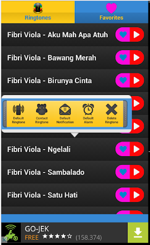 android OM. SERA - Fibri Viola Screenshot 2