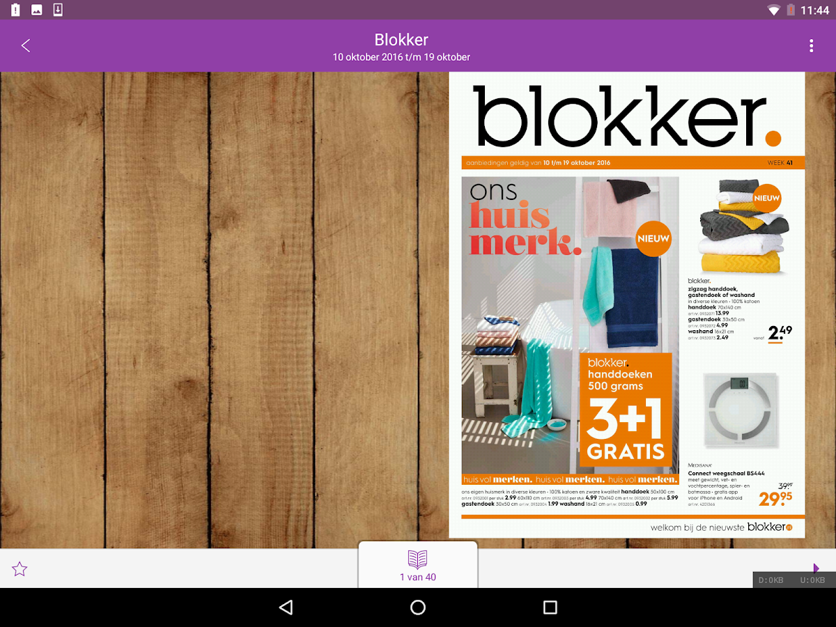 Reclamefolder - Folders Online- screenshot