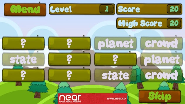 vocabulary games for 2nd grade