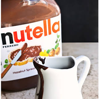 Nutella Syrup.