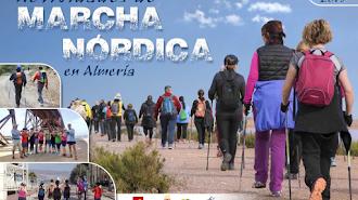 La marcha nórdica está creciendo en Almería.
