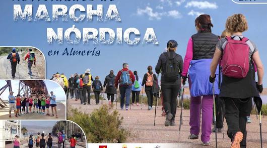 La marcha nórdica se abre camino en Almería