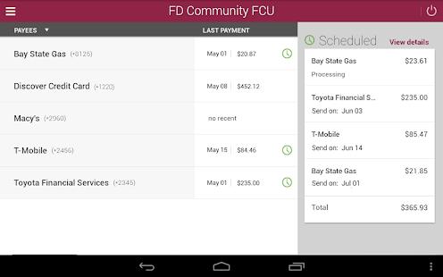FD Community FCU Mobile- screenshot thumbnail