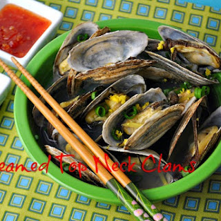 Steamed Top Neck Clams