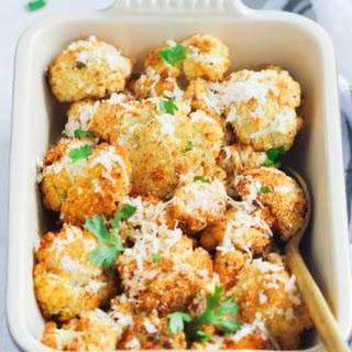 Garlic Parmesan Roasted Cauliflower Recipe