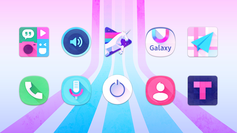 Unicorn Icon Pack v3.33