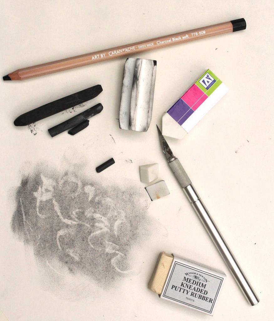 Vẽ ý tưởng cho người mới bắt đầu: vẽ trừ