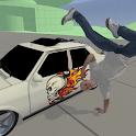 Rapper Hiphop Car Simulation icon
