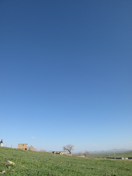 Photo: High blue sky