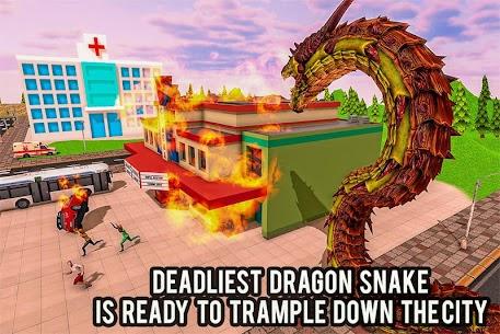 Furioso anaconda dragão serpente cidade rampage 1.0 Mod Apk 9