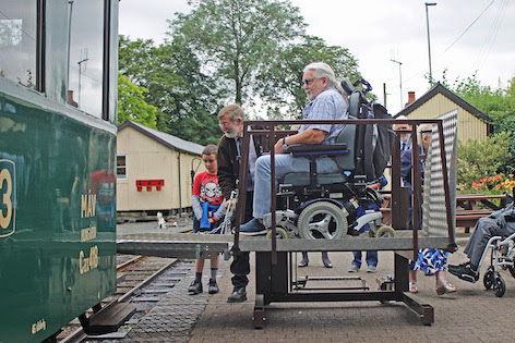 Llanfair Line celebrates Disability First project