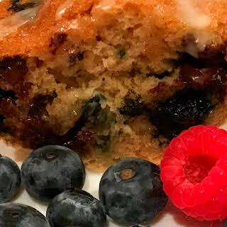 Blueberry Orange Bundt Cake.