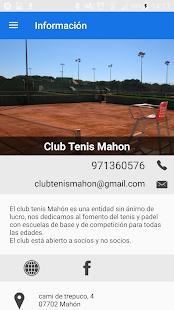 CLUB TENIS MAHON - náhled