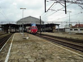 Photo: Legnica: SU46-011 rusza ze składem EC240 relacji Kraków - Hamburg