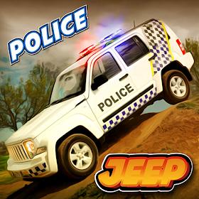 полиции джип имитатор