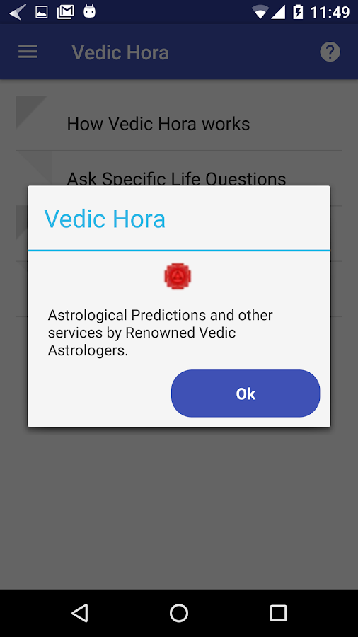 Vedic Hora- screenshot