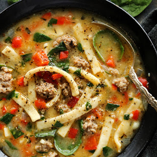Buttered Egg Noodles And Sausage Recipes.