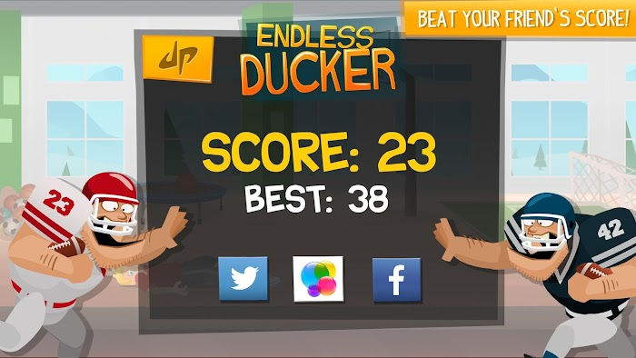 Endless Ducker- screenshot